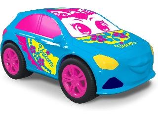Pink Drivez - Vanília illatú gumiautó kék