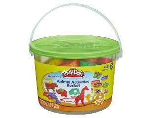 Play Doh - Állatok vödrös gyurmakészlet