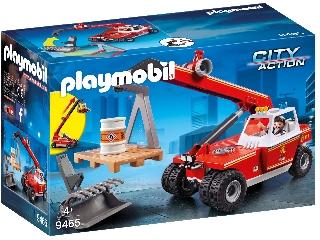 Play. Tűzoltó daruskocsi