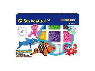 Playbox 3D Gyöngykép figurák - tenger - 4000 db