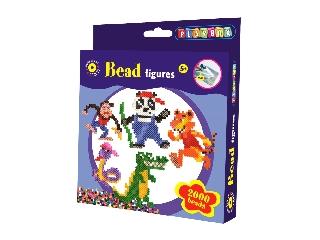 Playbox - Gyöngykép figurák 2000 db - Dzsungel állatai