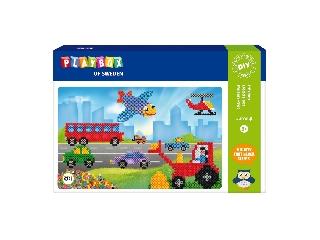 Playbox Gyöngykép figurák - 4000 db - járművek
