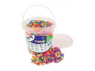 Playbox vödör gyöngy 5000 db neon mix