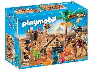 Playmobil - A sírfosztogatók tábort vernek