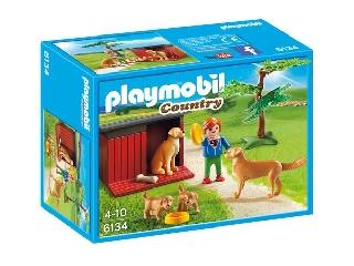 Playmobil - Béci és a retriverpajtik