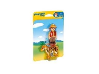 Playmobil - Élesfogú tigrisem! Nem futok, mert ismerem!