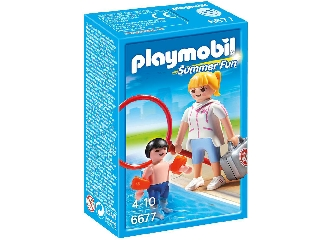 Playmobil - Felkészült úszóedző