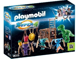 Playmobil - Földönkívüli harcos T-Rex csapdával