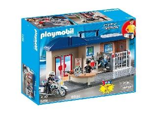 Playmobil - Hordozható rendőrőrsöm