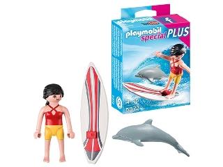 Playmobil - Hullámlovas és kísérete