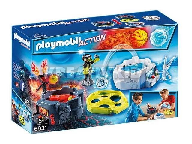 Playmobil - Jeges hevület golyókatapult
