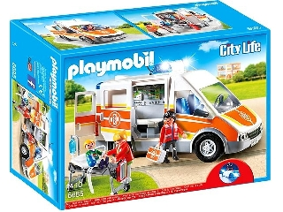 Playmobil - Jön a segítség! Mentőautó