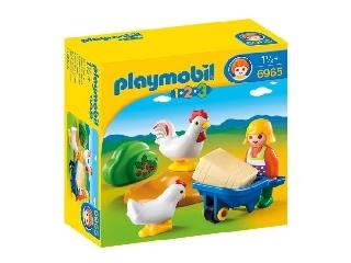 Playmobil - Kakasszótól hangos az udvar