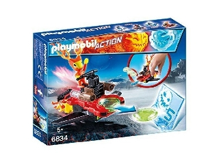 Playmobil - Lángmanó a korongkilövőben