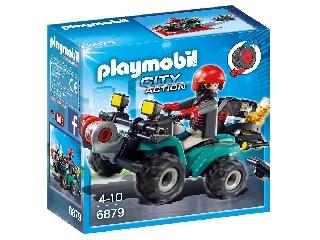 Playmobil - Műkincsrabló szuper kvadján