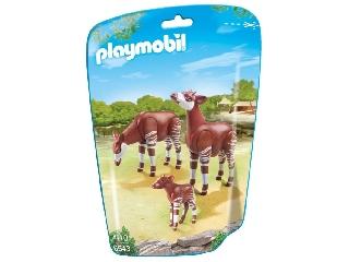 Playmobil - Okapik és a kis okapi csikó