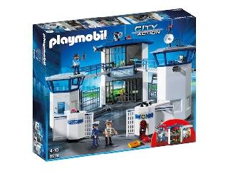 Playmobil - Rendőr főkapitányság cellákkal