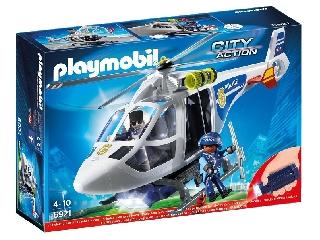 Playmobil - Rendőrhelikopter keresőreflektorral