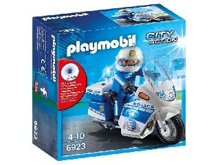 Playmobil - Rendőrmotoros