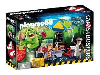 Playmobil - Slimer (Ragacs) hot dog standdal - Szellemirtók