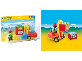 Playmobil - Targoncás Tóbiás