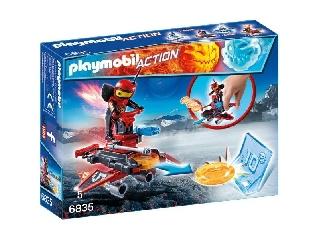 Playmobil - Tűzrobi a korongkilövőben