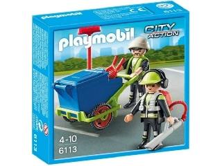 Playmobil - Várostisztító csapat