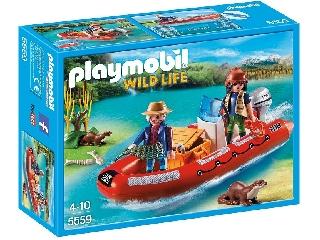 Playmobil - Vidramentő motorcsónakkal