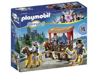 Playmobil Alex, a királyi emelvénynél