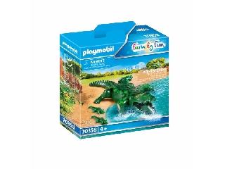Playmobil: Aligátor kicsinyeivel