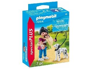Playmobil: Anyuka kisbabával és kutyával - 70154