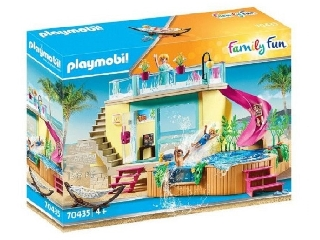 Playmobil: Bungaló medencével 70435