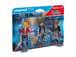 Playmobil: Bűnöző figurák szettben
