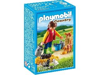 Playmobil Cicacsalád gondozóval