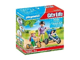 Playmobil City Life: Anya két gyermekével
