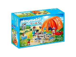 Playmobil: családi kempingezés
