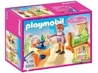 Playmobil Dollhouse - Babaszoba gyerekággyal