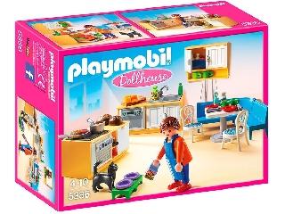 Playmobil Dollhouse - Konyha és ebédlő