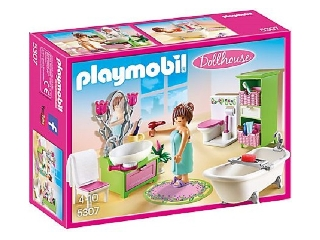 Playmobil Dollhouse - Romantikus fürdő