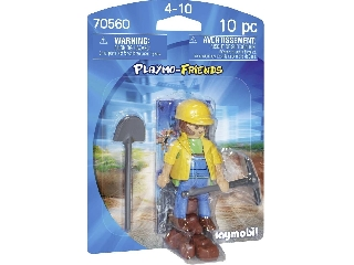 Playmobil Építőmunkás