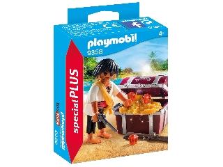 Playmobil Félszemű kalóz kincsesládával