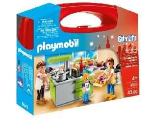 Playmobil - Főzőcskézik a család - hordozható szett