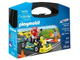 Playmobil Gokart verseny - hordozható szett