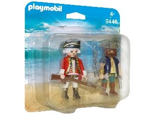 Playmobil Kalóz és katona duo pack