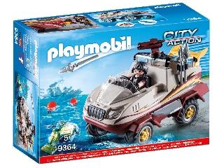Playmobil Kétéltű kocsi 9364