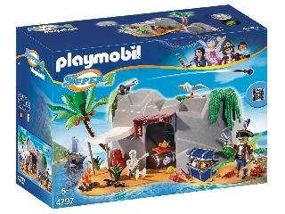 Playmobil Kincses kalózbarlang