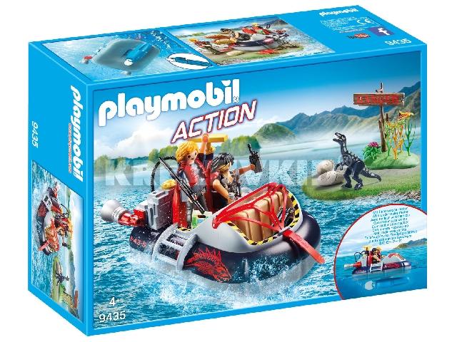 Playmobil Légpárnás csónak víz alatti motorral
