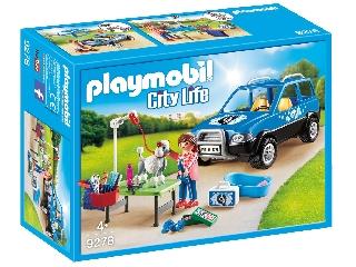 Playmobil Mobil kutyakozmetika