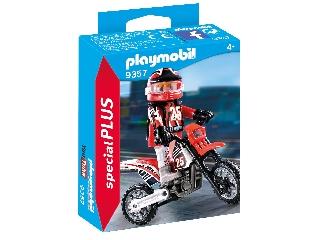 Playmobil Motocross-versenyző