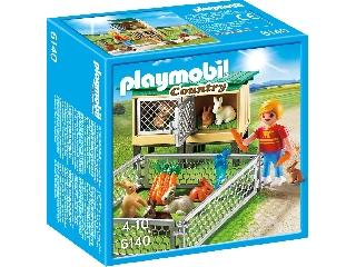 Playmobil - Nyuszi karám gondozóval